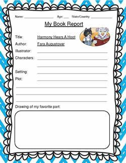 Free Printable Book Report Templates Aplg Planetariums Org Book Review  Template YAY Having To Look Up  Book Report Template Free